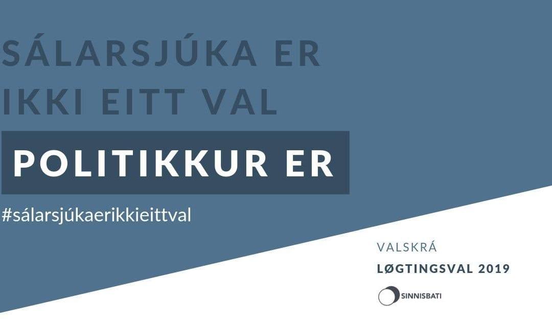 Valskráin hjá Sinnisbata, til Løgtingsval 2019